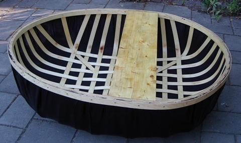 Plywood Lath Coracle Free Boat Plans