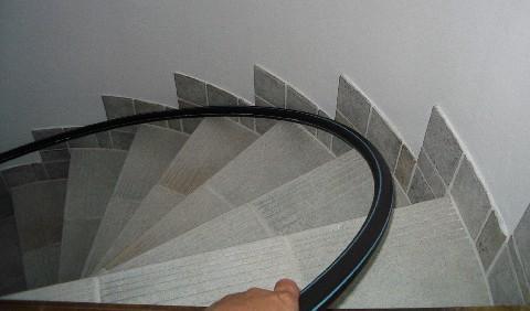 Barandilla para escalera caracol casera muy barata hazlo Como hacer una escalera caracol