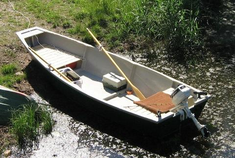 A 158 Fishing Punt Free Boat Plans